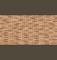 brick wall texture wall masonry seamless pattern vector image