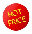 HOT PRICE red vector image