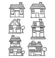 house style set vector image vector image