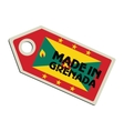 Made in Grenada vector image vector image