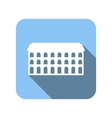 New house flat icon vector image vector image