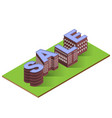 sale worg with buildings vector image