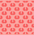 seamless pattern background with kidneys vector image vector image