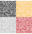 Set of Abstract Pixel Backgrounds vector image vector image