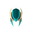 set super hero masks in flat style big vector image vector image