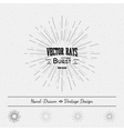Rays of the sun star explosion for any use vector image