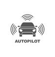 autopilot icon simple element vector image