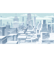 Cityscape Winter vector image vector image