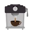 coffee maker machine vector image vector image