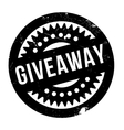 Giveaway rubber stamp vector image vector image