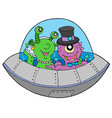ufo wedding vector image vector image