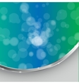 abstract light background with frame - vector image vector image