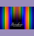 abstract rainbow color lines background vector image vector image