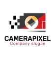 Camera Pixel Design vector image vector image