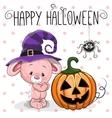 Halloween Rabbit vector image vector image