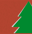 Icon Christmas Tree vector image