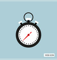 stopwatch icon stopwatch icon eps10 stopwatch vector image