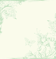 Vintage background green vector | Price: 1 Credit (USD $1)