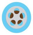 Reel of film icon vector image