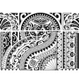 aztec ethnic style ornament vector image vector image