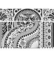 aztec ethnic style ornament vector image