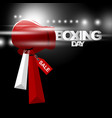 boxing day sale concept design vector image vector image