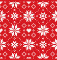 christmas or winter scottish fair isle style vector image vector image