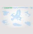 european union spain italy greece czech vector image