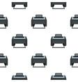 printer pattern seamless vector image vector image