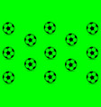 soccer ball - pattern vector image