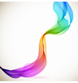abstract color wave vector image vector image