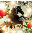 Fantasy Nature Horse vector image vector image