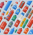 gas cylinder lpg gas-bottle and gas vector image
