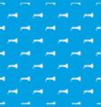 lantern pattern seamless blue vector image vector image