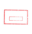 stamp rectangle light 7 vector image vector image