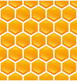 honeycomb on background vector image