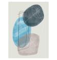 abstract arts background creative minimalist hand vector image