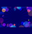 colorful abstract background with bokeh defocused vector image