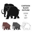 dinosaur stegosaurus icon in cartoon style vector image vector image
