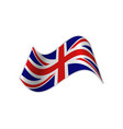 the uk flag vector image
