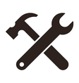 Wrench and hammer Tools icon