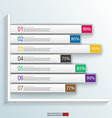 Business and communication inforgraphic template vector image vector image