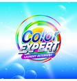 creative soap or laundry detergent procust vector image vector image