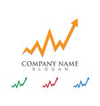 finance logo and symbols concept vector image vector image