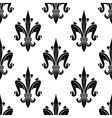 French victorian fleur-de-lis seamless pattern vector image vector image