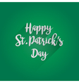 Happy St Patricks Day Lettering Design vector image vector image