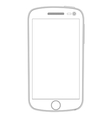 Realistic detailed smartphones vector image vector image