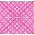 The pink geometric Pattern vector image vector image