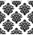 Victorian floral decorative seamless pattern vector image