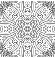 abstract hand-drawn mandala-01 vector image vector image